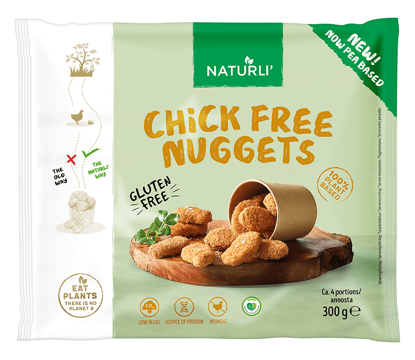 NATURLI' Chick Free Nuggets